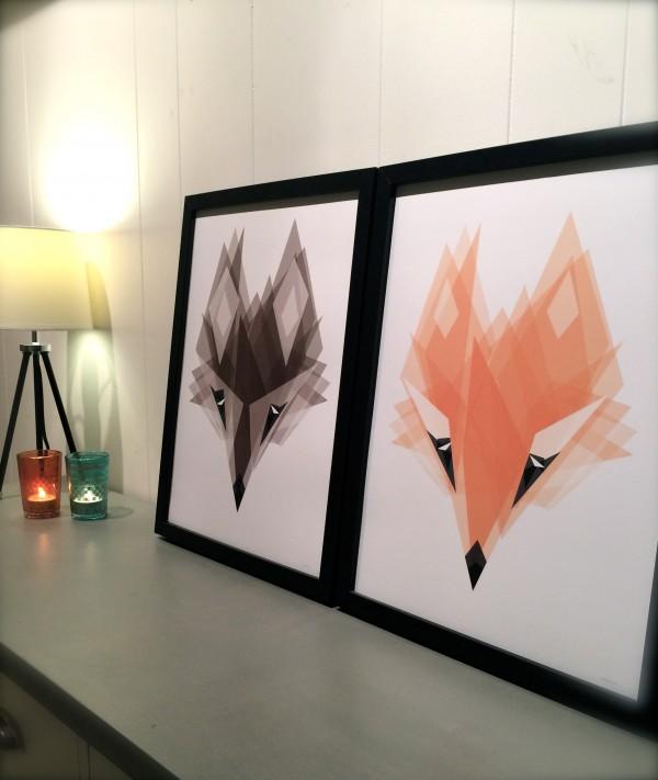 Wolfie & Foxie
